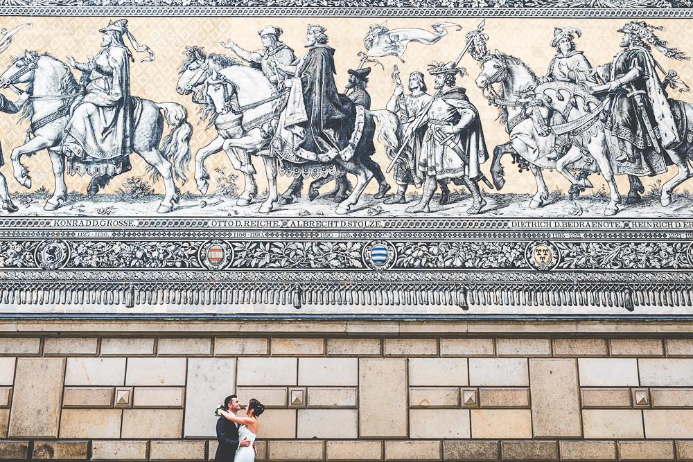 Hochzeitsfotograf Dresden Frauenkirche