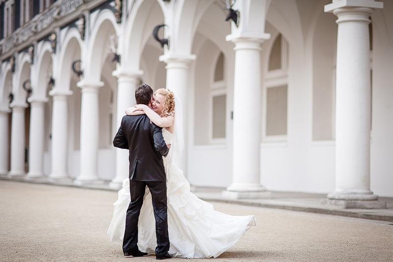 Hochzeit - Janine ♥ Jan in der Frauenkirche in Dresden