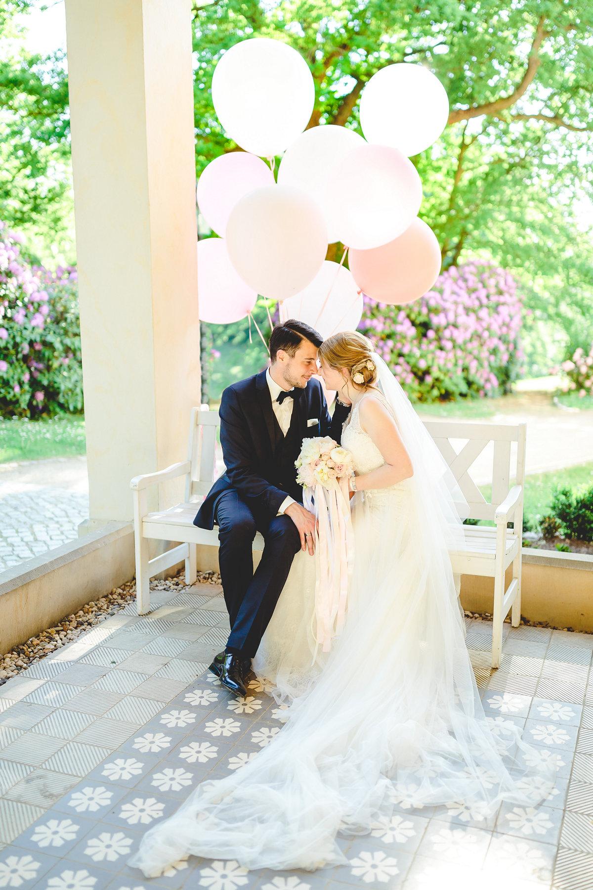 Hochzeit - Sina ♥ Daniel im Schloss Proschwitz bei Meißen